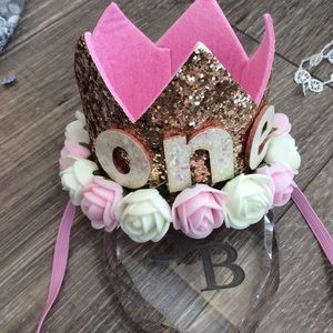 Other - Boutique Baby 1st Birthday Crown